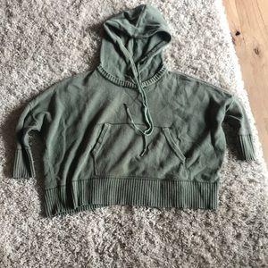 Nicholas K- chenille cropped hoodie.